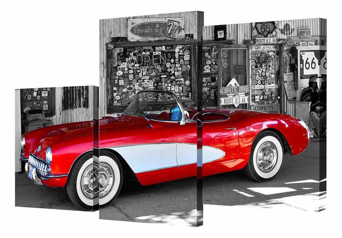"Картина модульная Toplight ""Машины"", 50 х 78 см. TL-MM1043"
