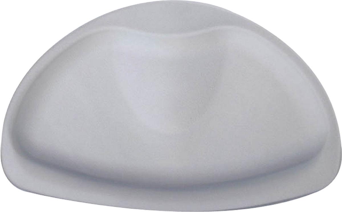"""Подушка для ванны Ridder """"Tecno+"""", цвет: серый, 20 х 30 см"""