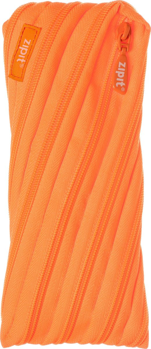 Zipit Пенал Neon Pouch цвет оранжевый zipit пенал сумочка colors pouch цвет мульти полоски