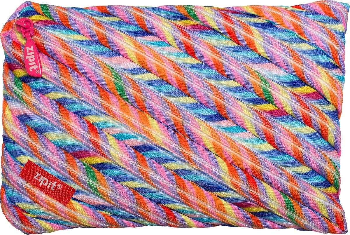 Zipit Пенал Colors Jumbo Pouch цвет мультиколор zipit пенал сумочка colors pouch цвет мульти полоски