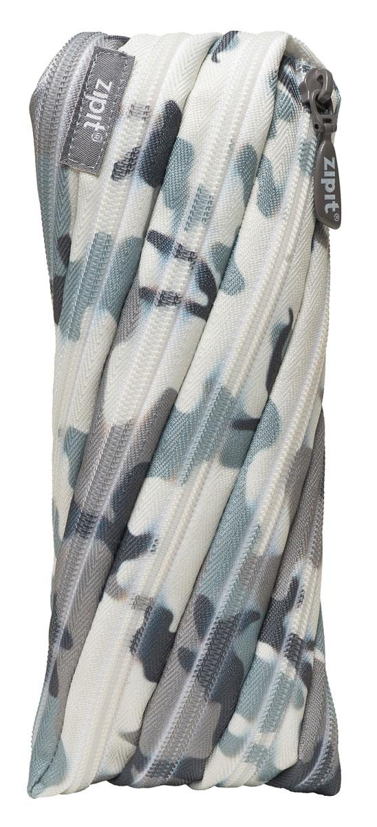 Zipit Пенал Camo Pouch цвет серый камуфляж zipit пенал сумочка colors pouch цвет мульти полоски
