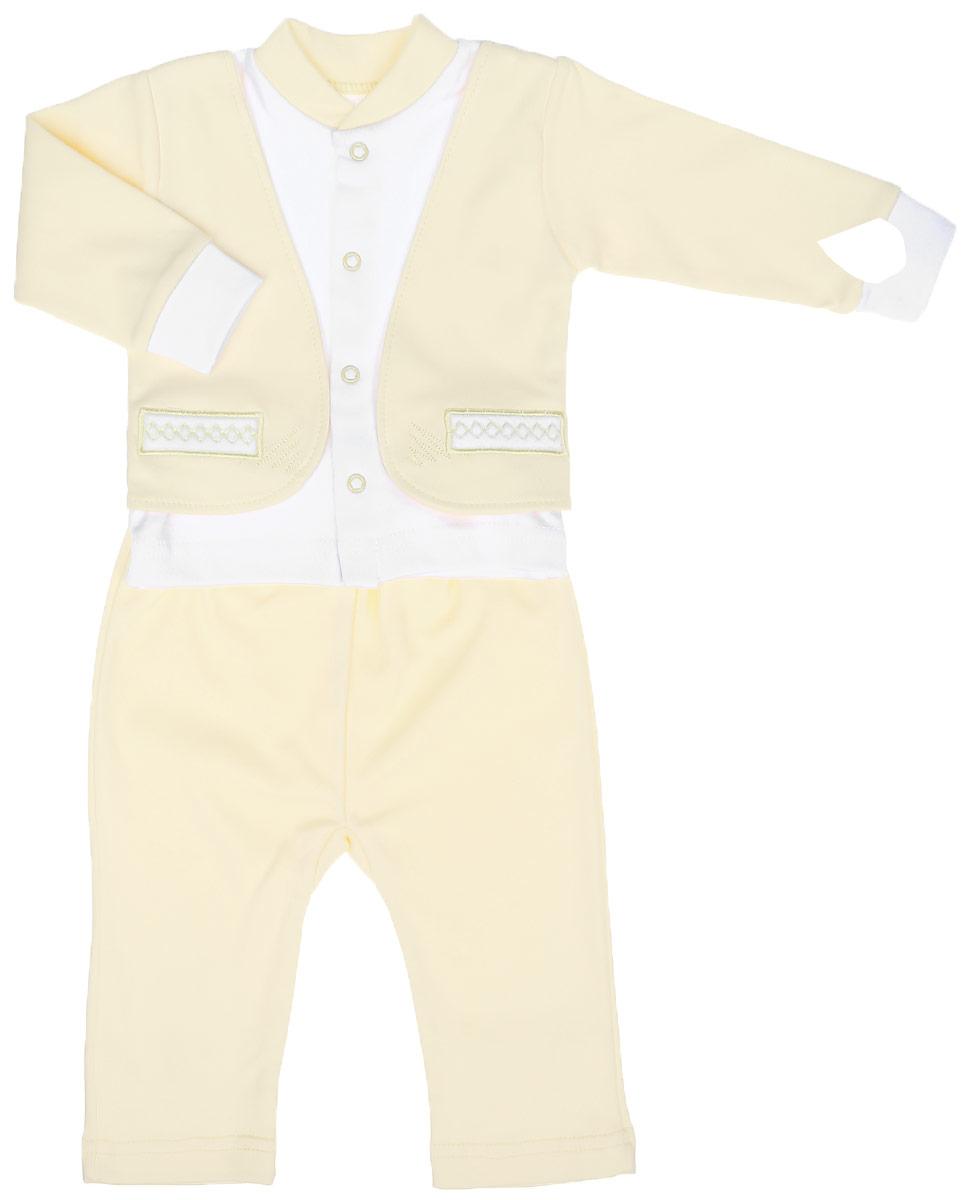 Комплект одежды Клякса комплект одежды для мальчика котмаркот кофточка штанишки цвет голубой 2817 размер 80
