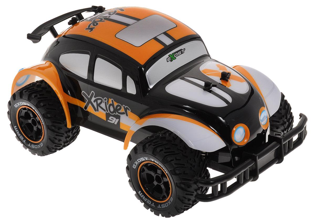 Silverlit Машина на радиоуправлении Икс Райдер цвет оранжевый черный