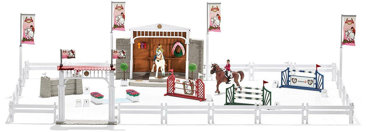 Schleich Игровой набор Турнир с лошадьми и наездниками игровые наборы schleich принадлежности по уходу за лошадьми