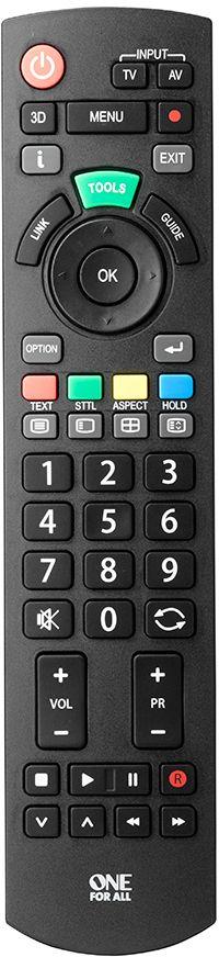 One For All URC1914, Black пульт ДУ для Panasonic цена и фото