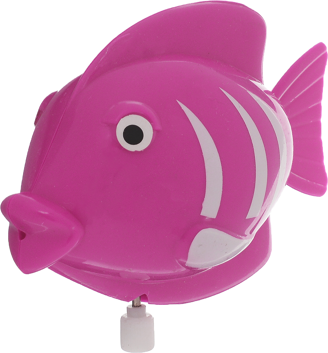 Умка Заводная игрушка Рыбка цвет розовый