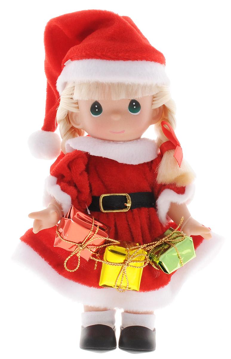 Precious Moments Мини-кукла Подарок для Санты блондинка