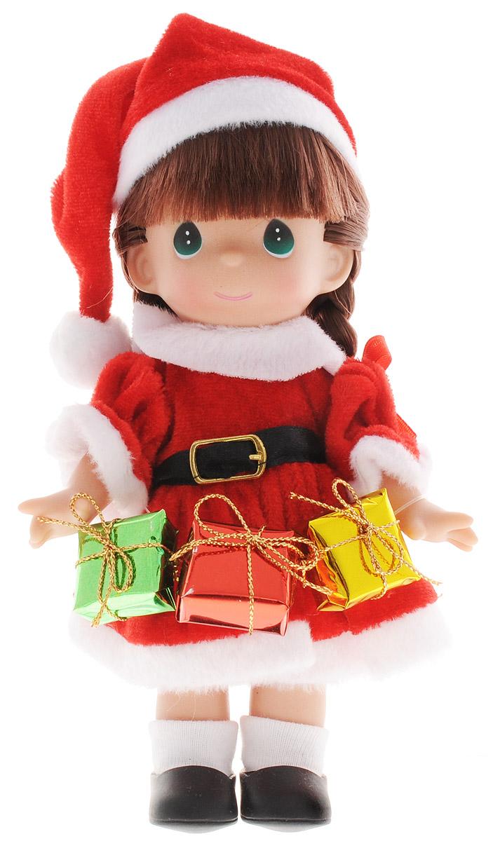 Precious Moments Мини-кукла Подарок для Санты брюнетка кукла ангельский шепот брюнетка precious moments