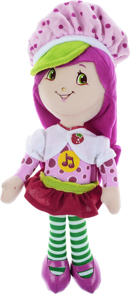 Мульти-Пульти Мягкая озвученная игрушка Шарлотта Земляничка 25 см