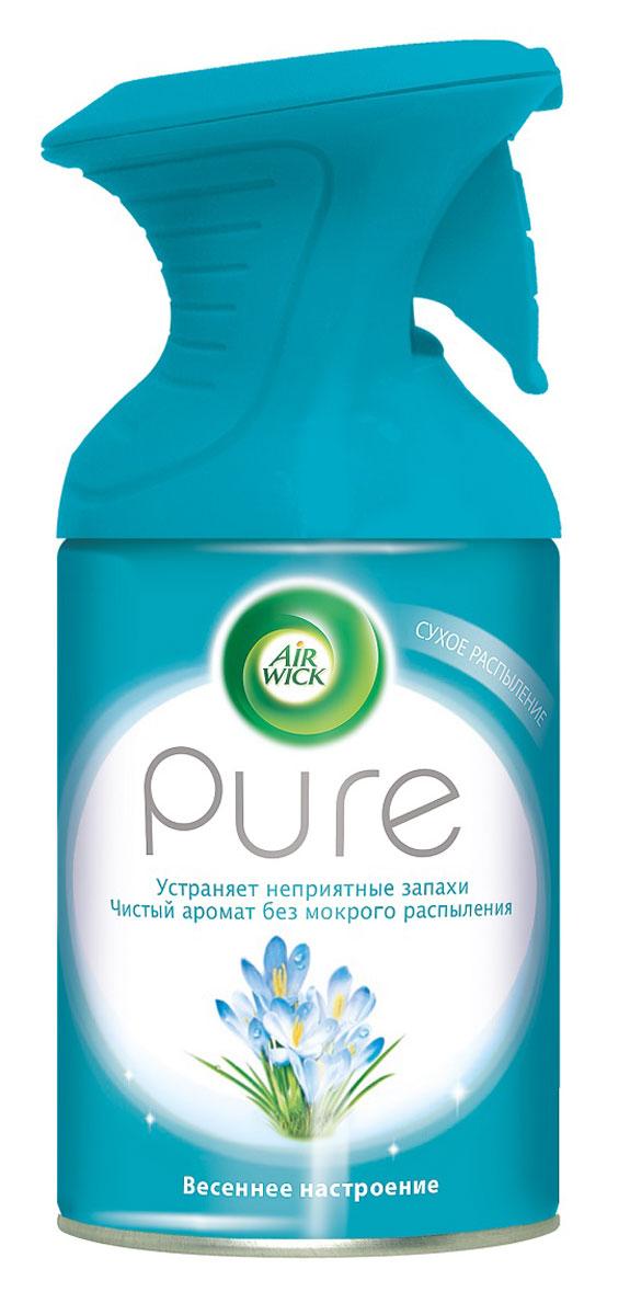 Освежитель воздуха AirWick Pure, весеннее настроение, 250 мл для автомобиля испанские освежители для воздуха