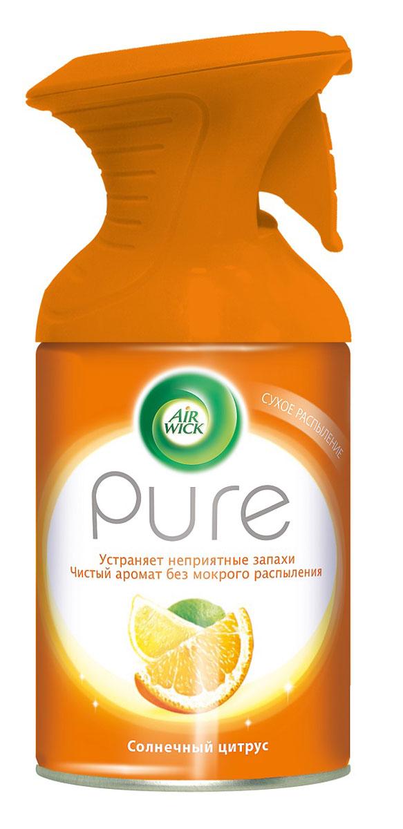Освежитель воздуха AirWick Pure, солнечный цитрус, 250 мл air wick pure освежитель воздуха солнечный цитрус 250 мл