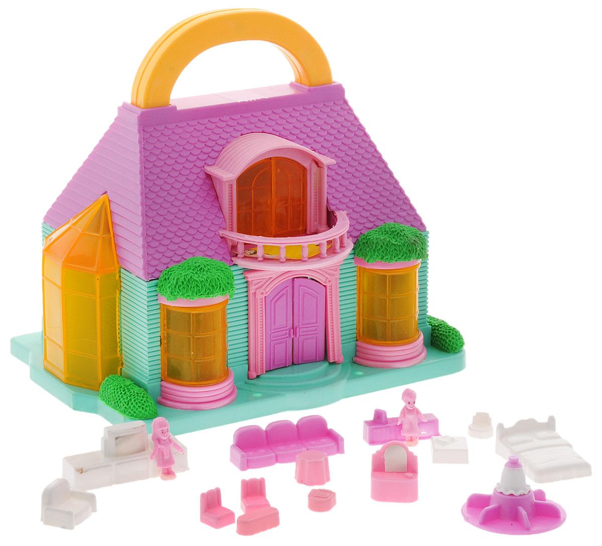 Дом для кукол ABtoys, в ассортиментеPT-00228Домик для кукол ABtoys с удобной ручкой для переноски просто необходим для веселой жизни ваших мини-куколок!В наборе имеется множество аксессуаров, которыми можно обустроить жилище. Набор поможет детям представить себя в роли дизайнера, занимающегося обстановкой и декором домика для любимой куколки, а также станет главным атрибутом для увлекательных сюжетно-ролевых игр.Набор выполнен из качественного и безопасного материала. Уважаемые клиенты! Обращаем ваше внимание на возможные изменения в цветовом дизайне, связанные с ассортиментом продукции. Поставка осуществляется в зависимости от наличия на складе.