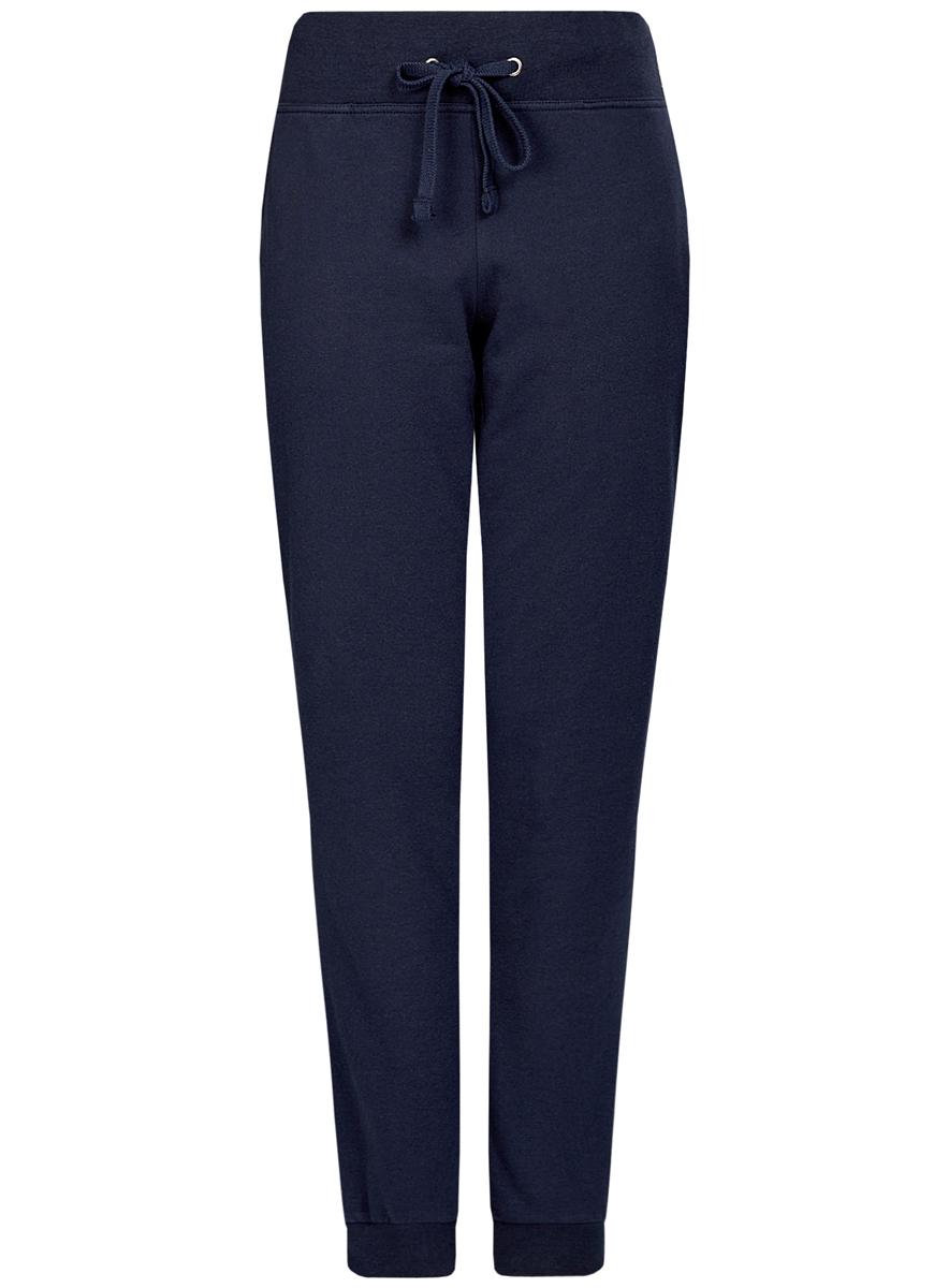 Брюки спортивные oodji брюки спортивные женские oodji ultra цвет синий 16701051b 47883 7502n размер xxs 40