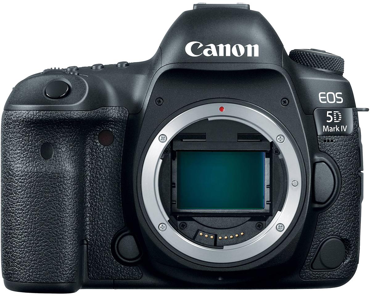 Зеркальный фотоаппарат Canon EOS 5D Mark IV Body, Black