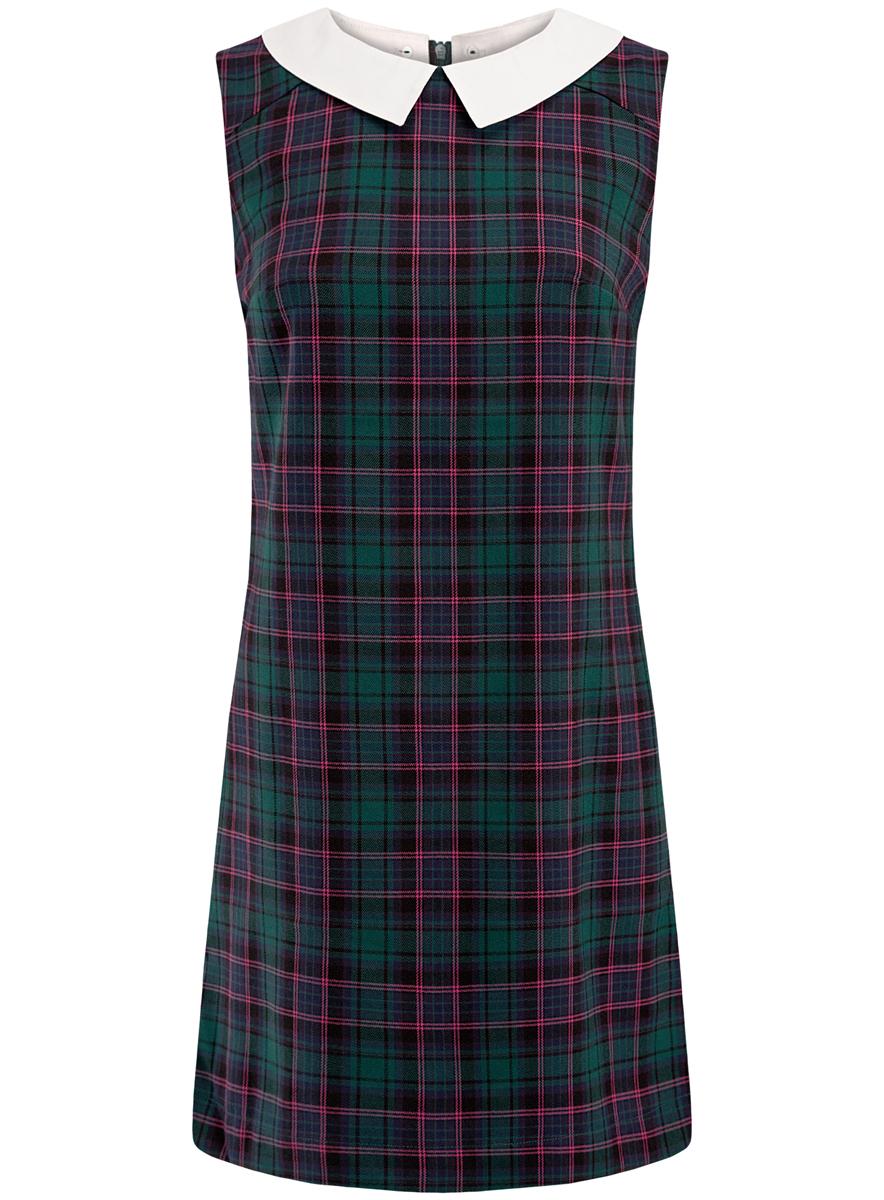 Платье oodji Ultra платье oodji ultra цвет белый темно синий 14001117 5b 46674 1079s размер xs 42 170
