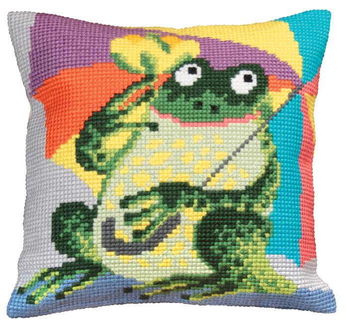 Набор для вышивания подушки Collection D'Art, 40 х 40 см. 5020 набор для вышивания подушки collection d art 40 х 40 см 5133