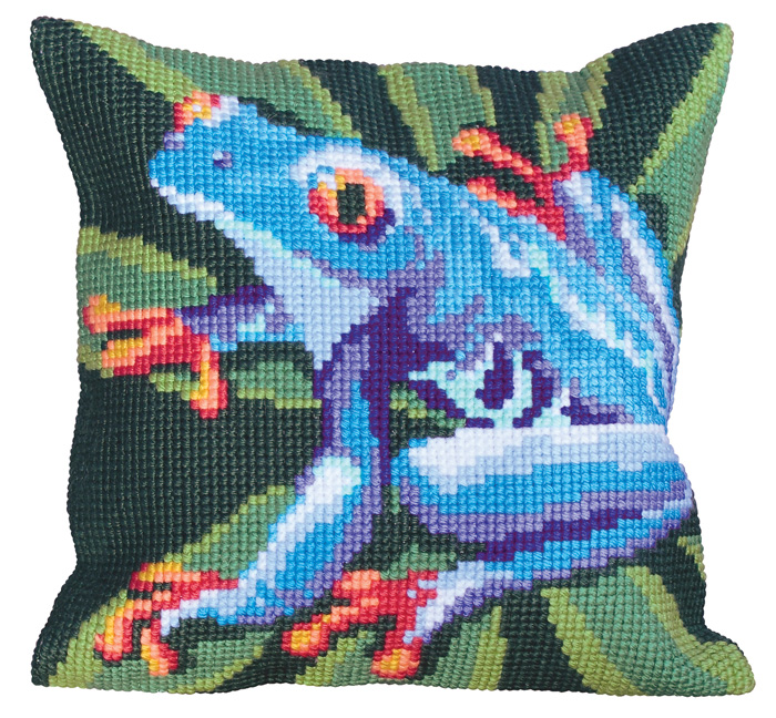 Набор для вышивания подушки Collection D'Art, 40 х 40 см. 5032 набор для вышивания подушки collection d art 40 х 40 см 5 193