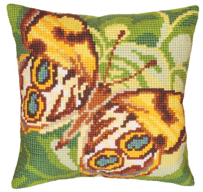 Набор для вышивания подушки Collection D'Art, 40 х 40 см. 5080 набор для вышивания подушки collection d art 40 х 40 см 5 193
