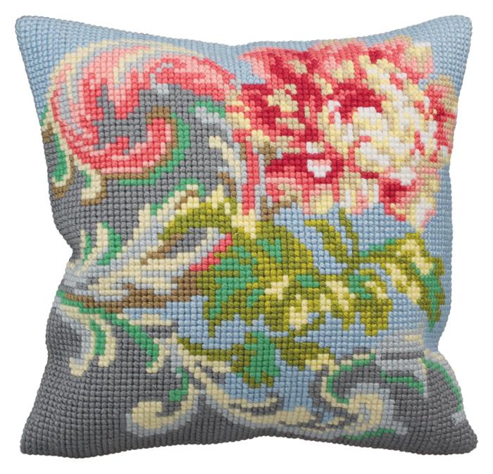 Набор для вышивания подушки Collection D'Art, 40 х 40 см. 5127 набор для вышивания подушки collection d art 40 х 40 см 5133