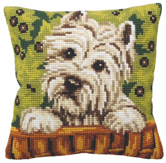Набор для вышивания подушки Collection D'Art, 40 х 40 см. 5162 набор для вышивания подушки collection d art 40 х 40 см 5133