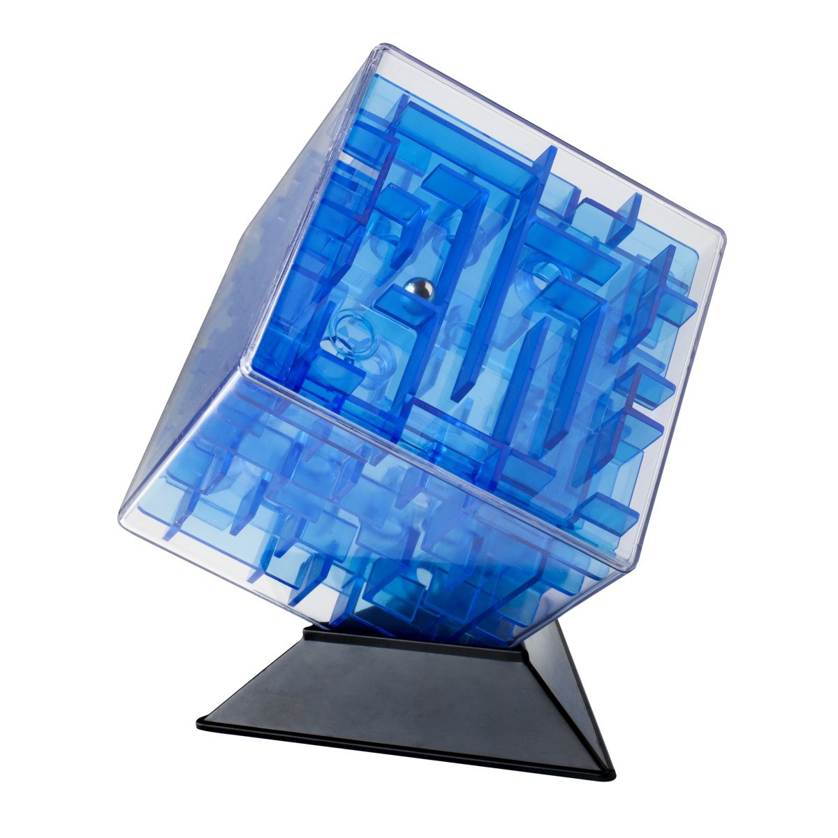 Labirintus Головоломка Куб цвет синий 10 см labirintus головоломка брелок цвет оранжевый