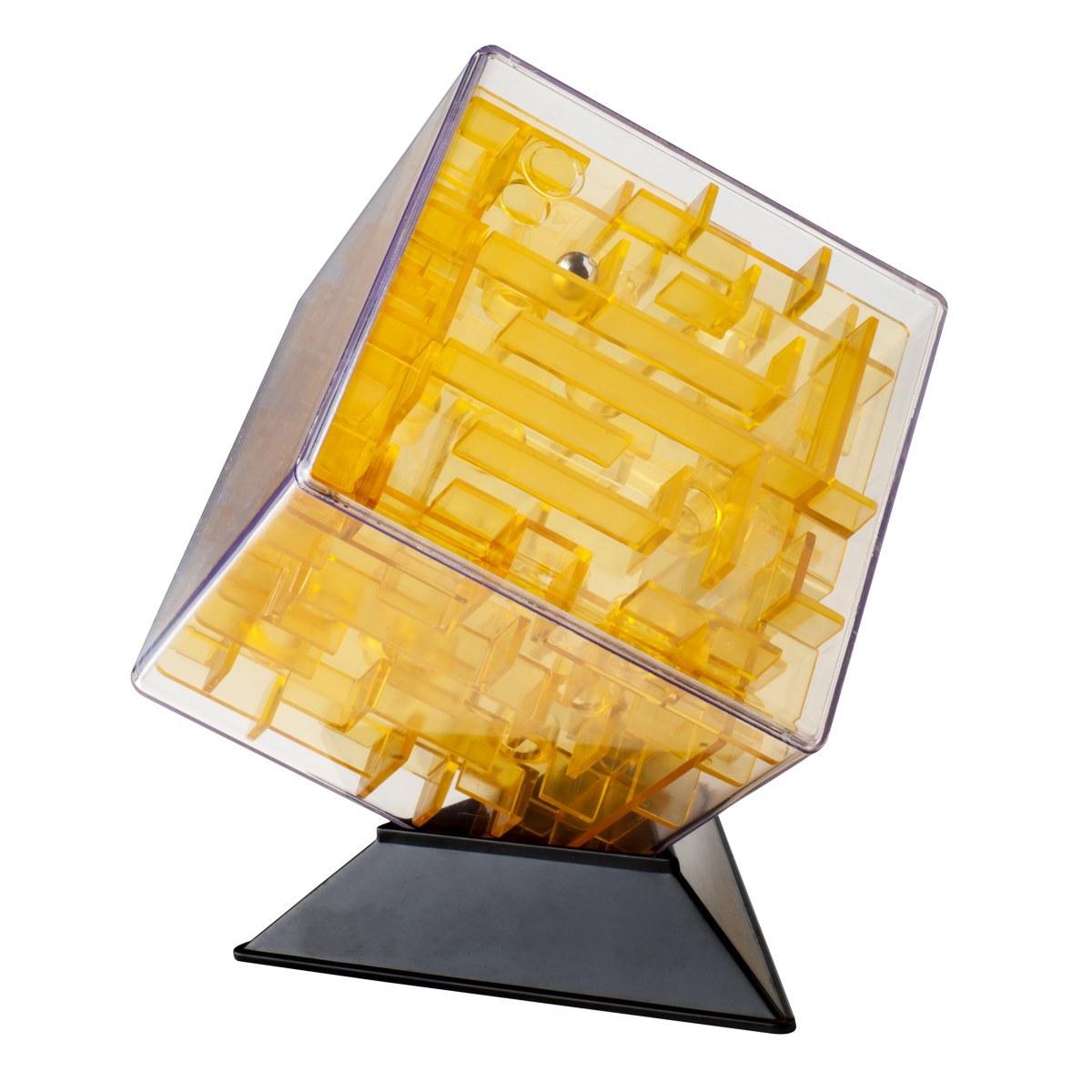 Labirintus Головоломка Куб цвет желтый 10 см