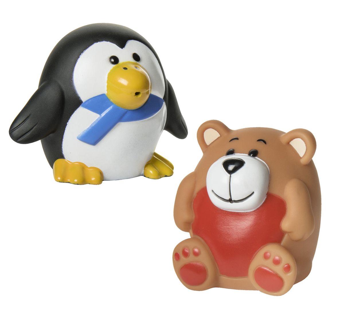 Курносики Набор игрушек для ванной Зоопарк 2 шт курносики набор игрушек брызгалок для ванны баю бай