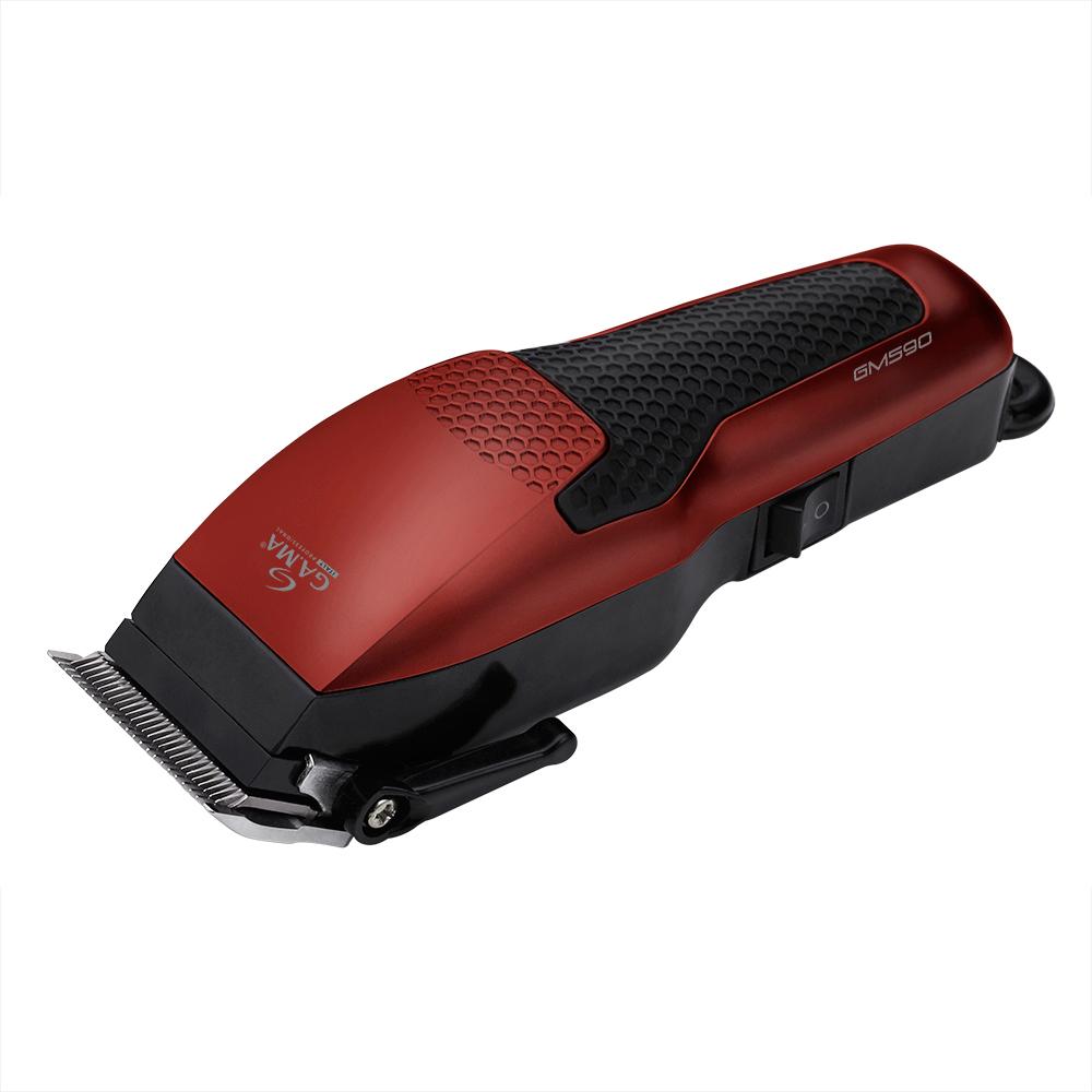 Машинка для стрижки GA.MA T21.GM590, Red Black машинка для стрижки supra hcs 202 black