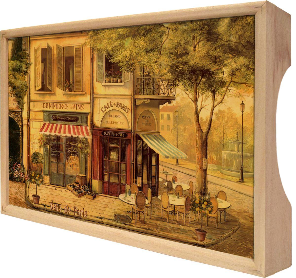 "Поднос Gift'n'Home ""Парижское кафе"", 25 х 37,5 см"