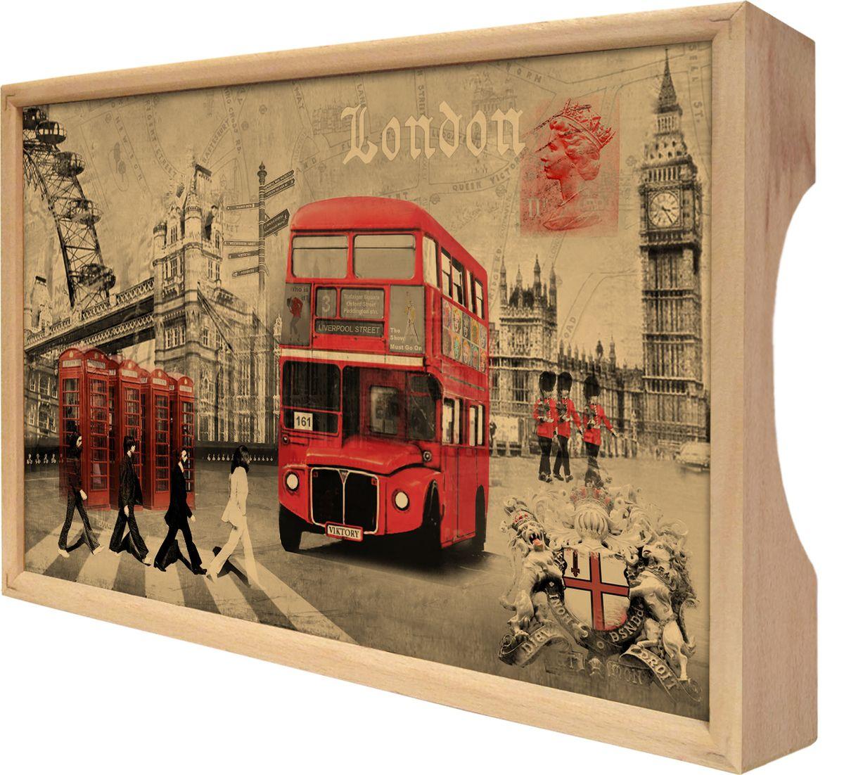 "Поднос Gift'n'Home ""Лондон"", 25 х 37,5 см"