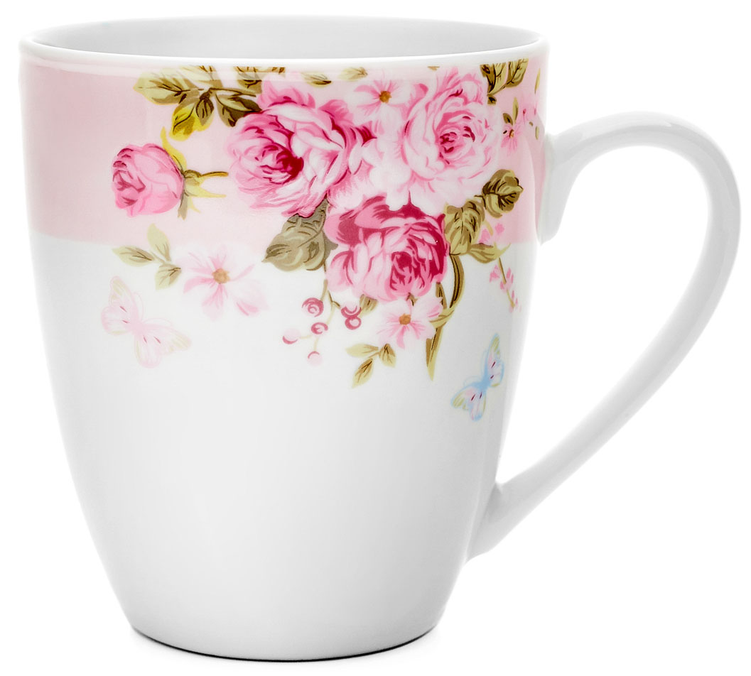 Кружка Walmer Mirabella, цвет: розовый, 360 мл цена