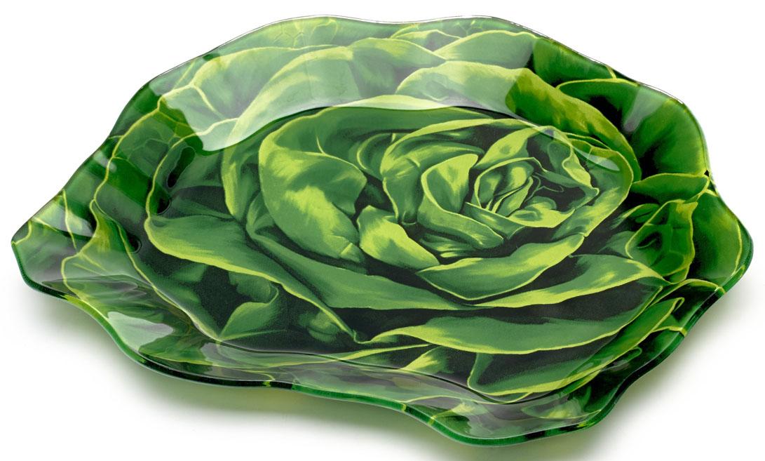 """Блюдо Walmer """"Lettuce"""", 16 x 18 см"""