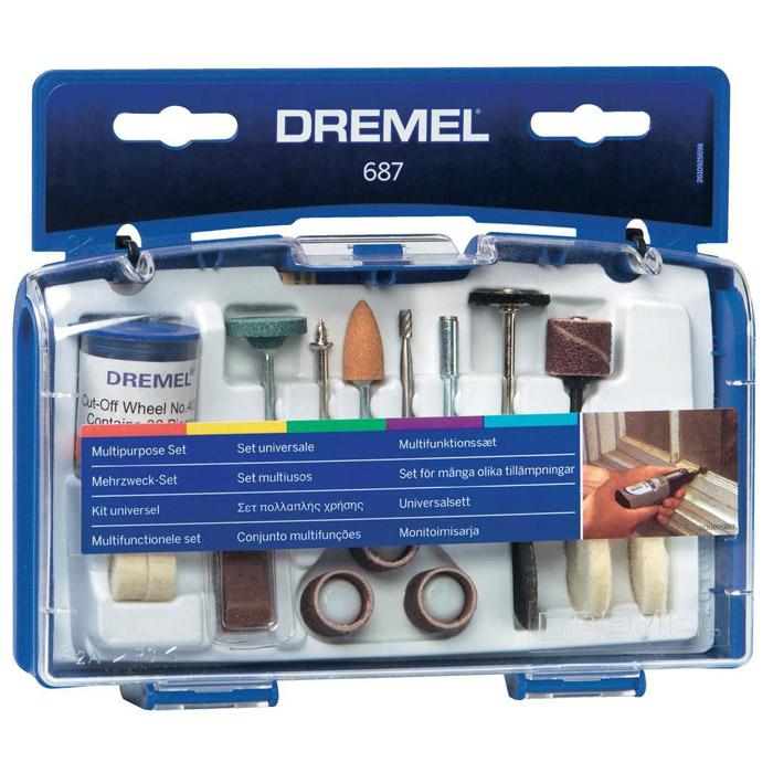 Набор оснастки Dremel 687, 52 предмета