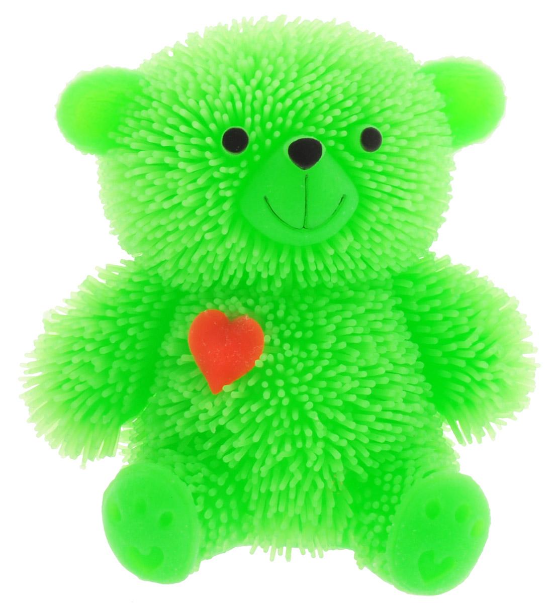 HGL Фигурка Медведь с подсветкой цвет зеленый стоимость