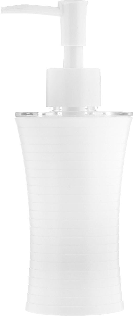 Дозатор для жидкого мыла Vanstore Style, цвет: белый, 200 мл дозатор для жидкого мыла vanstore wiki white цвет белый 300 мл