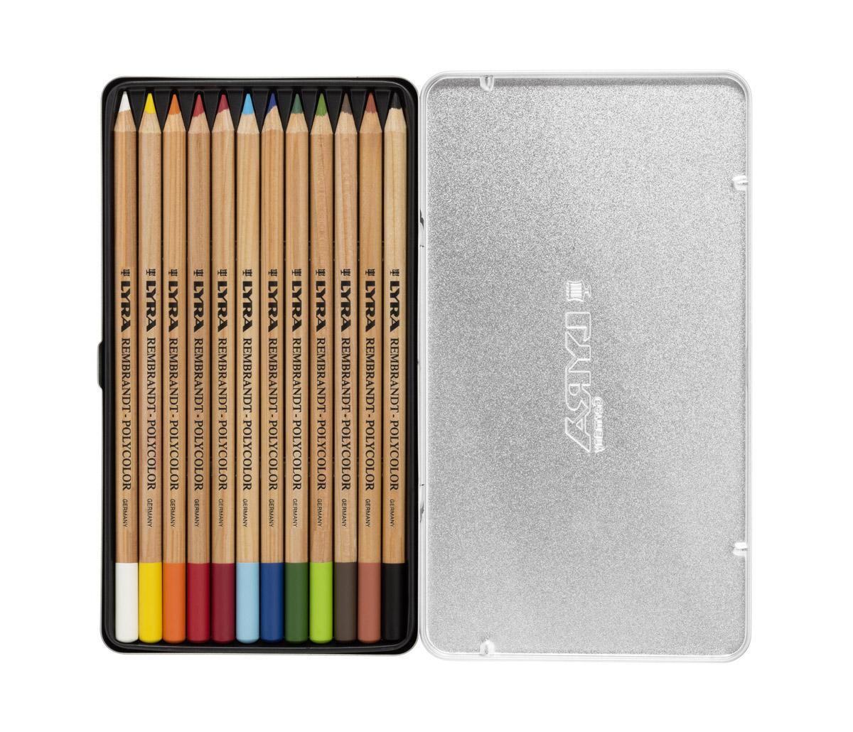 Lyra Набор художественных цветных карандашей Rembrandt Polycolor 12 шт lyra набор художественных цветных карандашей rembrandt polycolor 72 шт