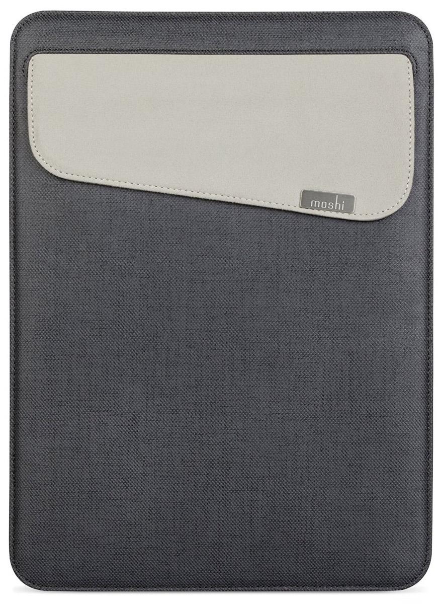Чехол Moshi Muse 12дляApple MacBook 12, 21856, graphite black чехол для ноутбука macbook pro 13 moshi muse 13 черный 99mo034004