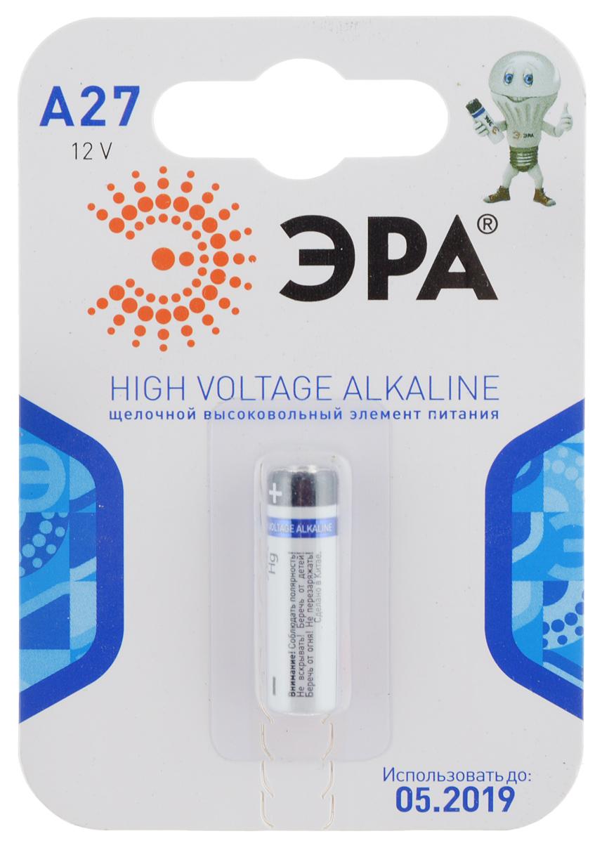 Батарейка алкалиновая ЭРА Energy, тип A27 (1BL), 12В батарейка алкалиновая эра energy тип a27 1bl 12в