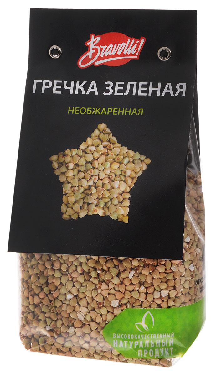 Bravolli Гречка зеленая необжаренная, 350 г цены