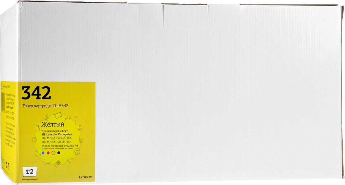 T2 TC-H342 (аналог CE342A), Yellow тонер-картридж для HP LJ Enterprise 700 M775dn/M775f/M775z/M775z+ цена 2017
