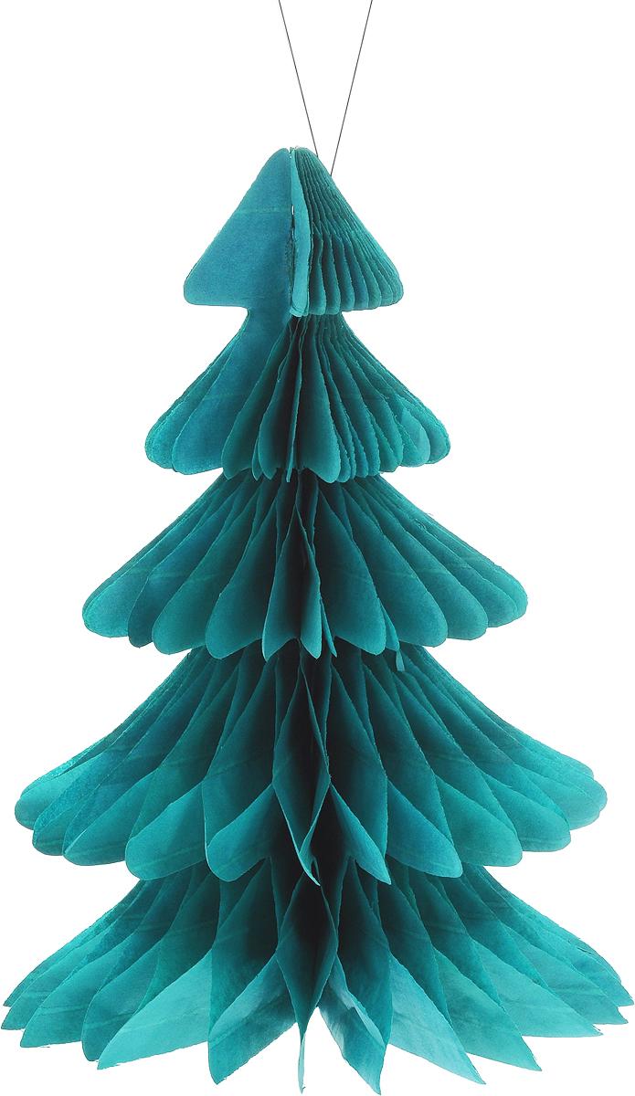 Украшение новогоднее подвесное Winter Wings Елочка, 19 х 26,5 см украшение новогоднее елочка заснеженная цвет красный 14 5 см 35691