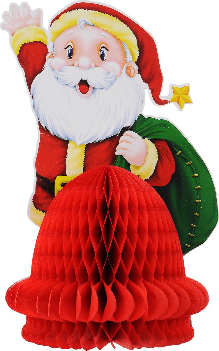 Украшение новогоднее подвесное Winter Wings Дед Мороз, 16 х 25 см украшение новогоднее подвесное mister christmas дед мороз коллекционное высота 10 см us 661211