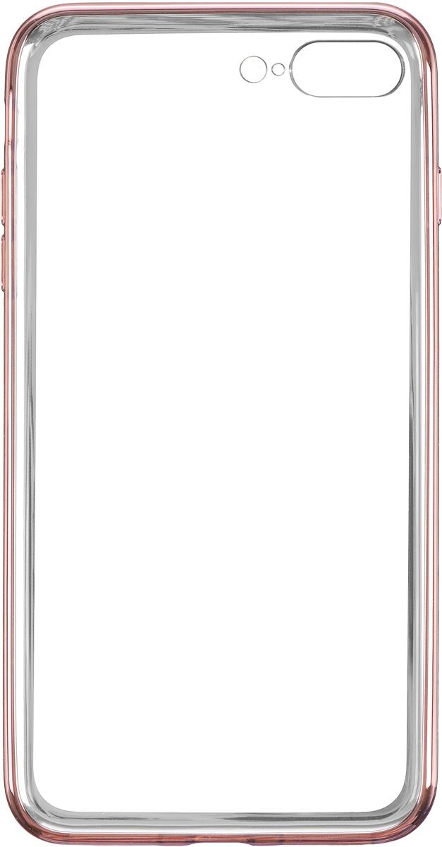 Deppa Gel Plus Case чехол для Apple iPhone 7 Plus/8 Plus, Pink Gold чехол клип кейс deppa air case для apple iphone 6 plus черный [83124]