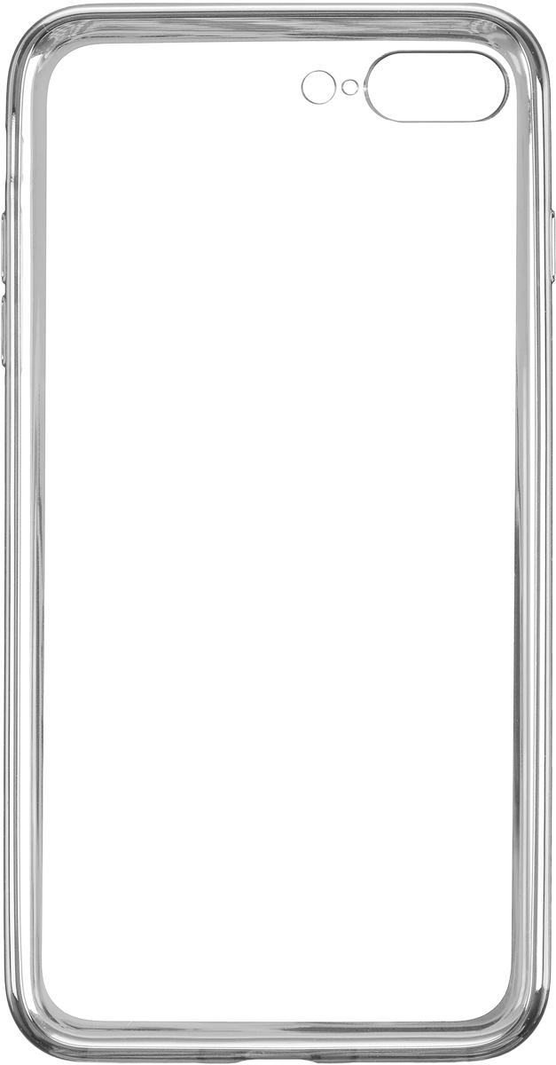 Deppa Gel Plus Case чехол для Apple iPhone 7 Plus/8 Plus, Silver чехол клип кейс deppa air case для apple iphone 6 plus черный [83124]