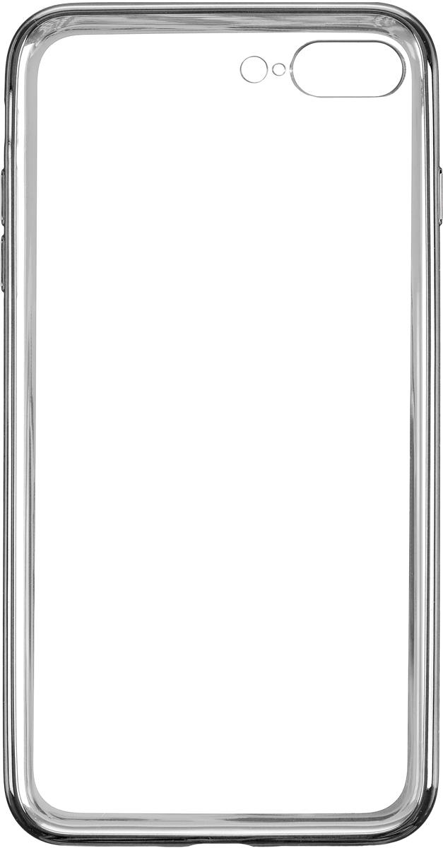 Deppa Gel Plus Case чехол для Apple iPhone 7 Plus/8 Plus, Graphite чехол клип кейс deppa air case для apple iphone 6 plus черный [83124]