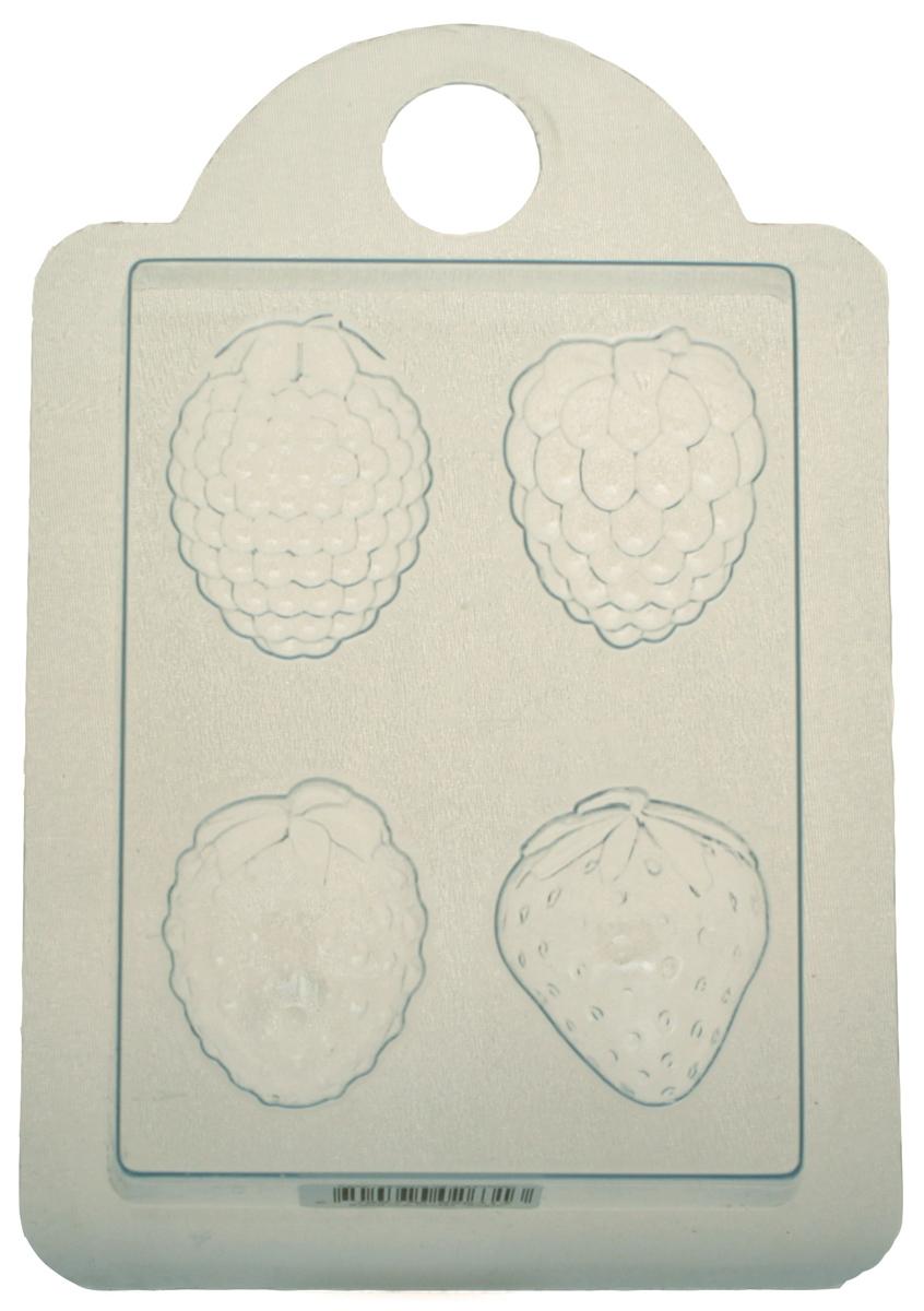Форма для мыла Выдумщики, профессиональная, Ягодки форма для мыла выдумщики букет тюльпанов пластиковая цвет прозрачный