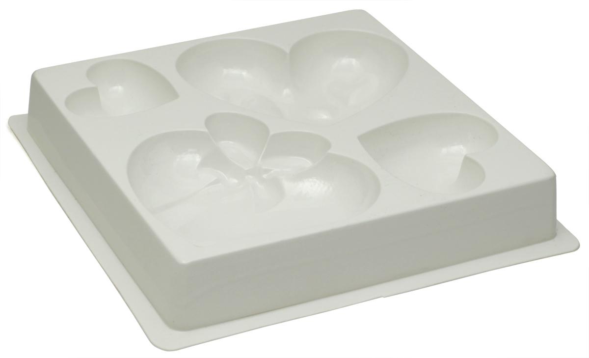 Форма для мыла Выдумщики, профессиональная, МК Любовь форма для мыла выдумщики букет тюльпанов пластиковая цвет прозрачный