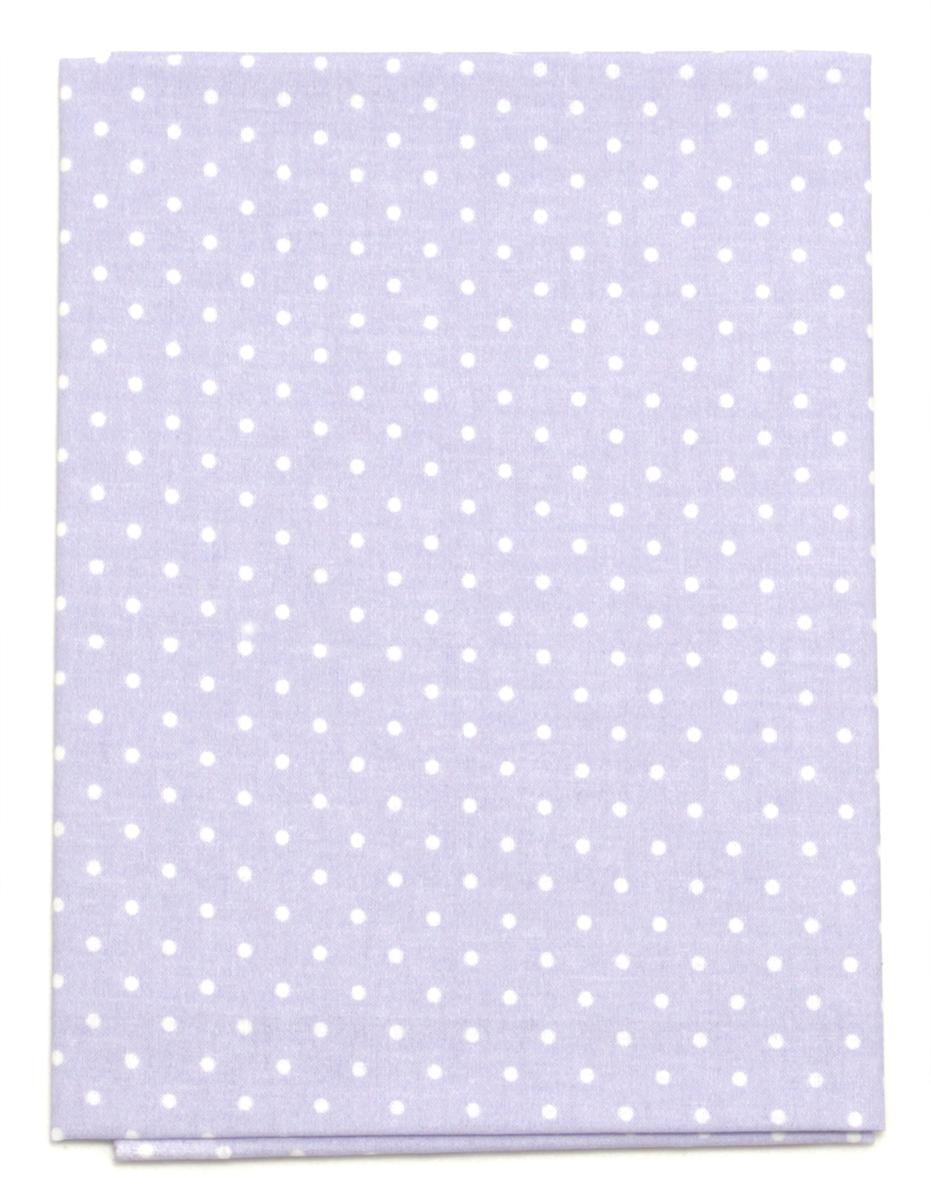 Ткань Кустарь Горошек 2 мм, цвет: светло-лавандовый, 48 х 50 см. AM556005 сколько ткани нужно для пошива 2 х спального комплекта