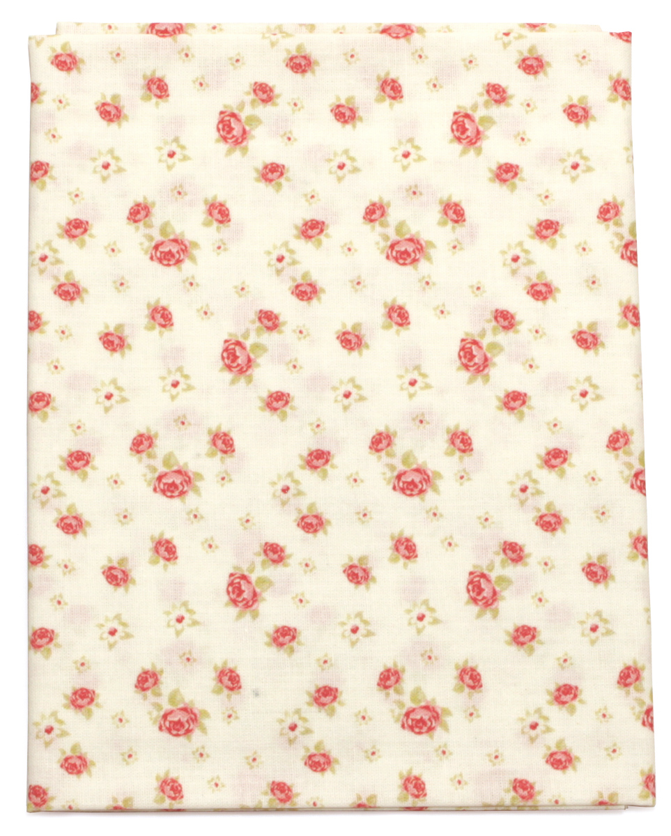 Ткань Кустарь Розы в стиле шебби шик №1, 48 х 50 см. AM586001 шебби шик панно серый 1606 0007 60х60 компл из 3 х шт