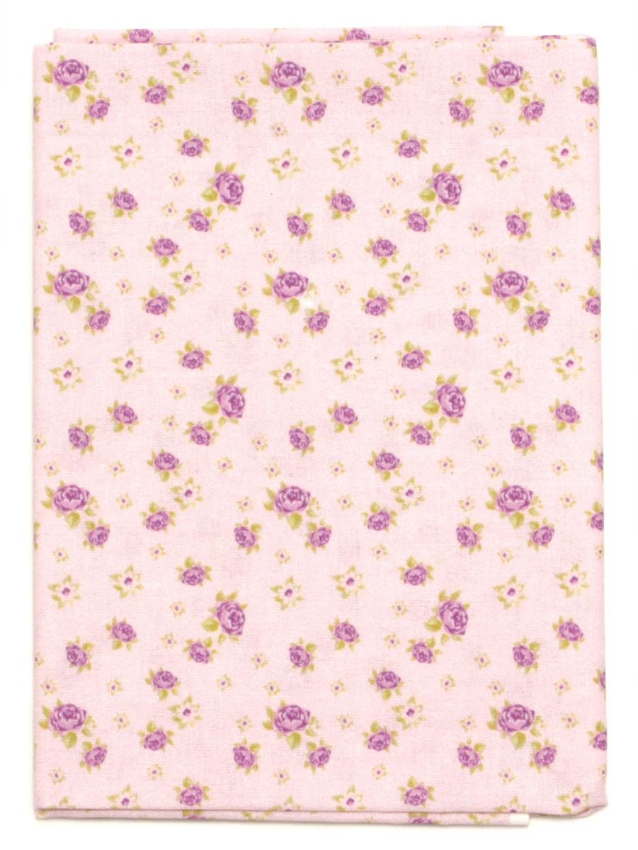 Ткань Кустарь Розы в стиле шебби шик №4, 48 х 50 см. AM586004 шебби шик панно серый 1606 0007 60х60 компл из 3 х шт